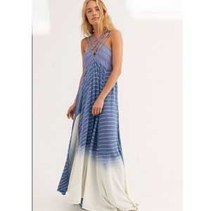 Free People Dreamweaver Maxi dress striped